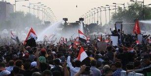 Bağdat'ta bir protestocu daha gaz bombası atılması sonucu öldü