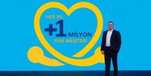 Turkcell her yıl 1 milyon yeni müşteri kazanacak