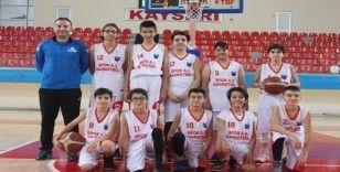 Kayseri U-14 Erkekler Basketbol Ligi: Volkan Aksoyak Spor-TED Koleji: 78-30