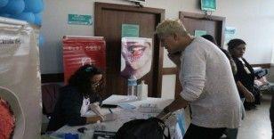 ''14 Kasım Dünya Diyabet Günü''nde 300 vatandaşın kan şekerini ölçtüler