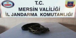 Mersin'de 200 gram esrar ele geçirildi