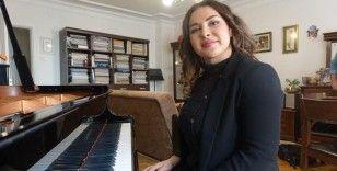 Azerbaycanlı piyanist İstanbul'da kendi orkestrasını kurmak istiyor