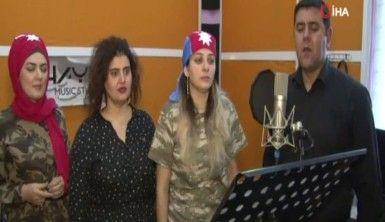 Azerbaycanlı besteciden Barış Pınarı Harekatı'na şarkılı destek