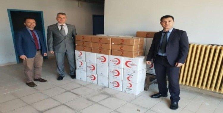 Türk Kızılayı, ihtiyaç sahiplerine gıda kolisi dağıttı