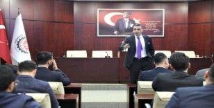 Genç girişimciler erkin Şahinöz'ü dinledi