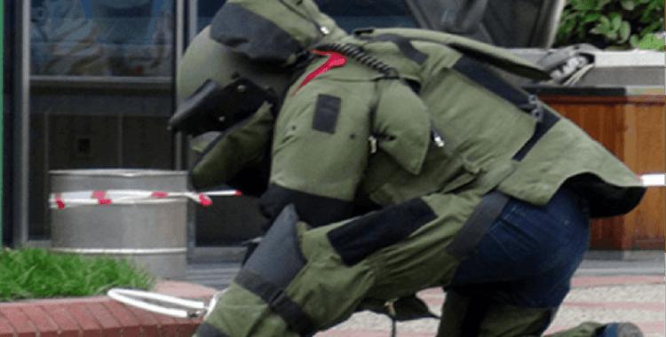 Jandarmadan kadın bomba uzmanı paylaşımı