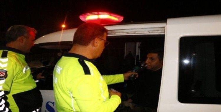 Polisten kaçmak isteyen sürücü 134 promil alkollü çıktı
