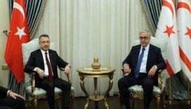 Cumhurbaşkanı Yardımcısı Oktay, Akıncı ile görüştü