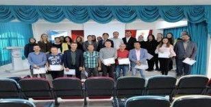 'Şuhut Proje Yazıyor' kursiyerleri sertifikalarını aldı