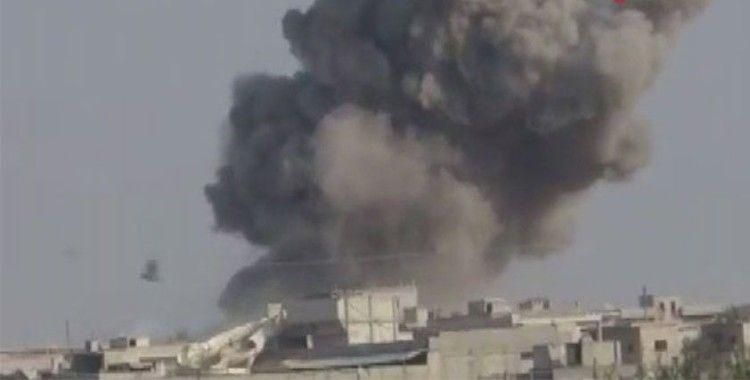 Rusya'dan Halep'e hava saldırısı, 3 çocuk hayatını kaybetti
