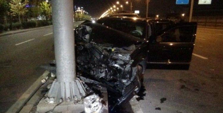 Diyarbakır-Şanlıurfa karayolunda trafik kazası: 5 yaralı