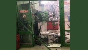 Rusya'da hırsızlar atm'yi bombayla havaya uçurdu