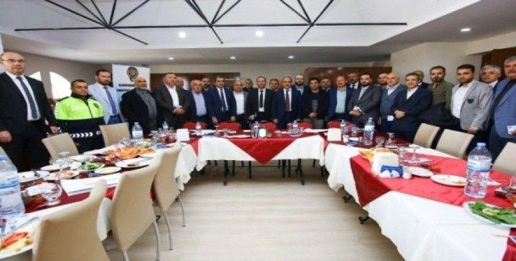 Suriyeli kanaat önderleriyle toplantı