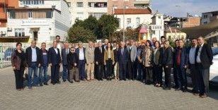 Nazilli CHP'de eski Başkan Deveci ve ekibi basınla buluştu
