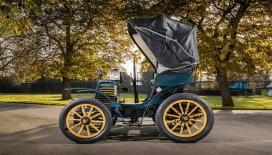 100 Yıllık Fiat 3½ HP Londra Klasik Otomobil Yarışında!