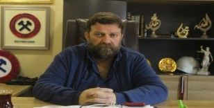 """Zonguldak Kömürspor Başkanı Süleyman Caner: """"Çaresizlikten maçları oynadığımız yerde antrenman yapıyoruz"""""""
