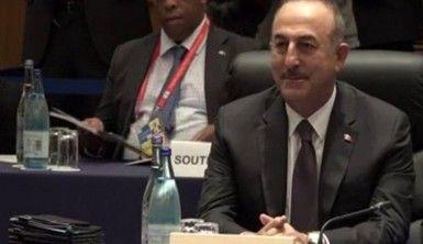 Çavuşoğlu, G20 Dışişleri Bakanları toplantısına katıldı