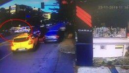 Ünlü iş adamı Sacit Naşit Batllo'nun ölümden döndüğü kaza kamerada