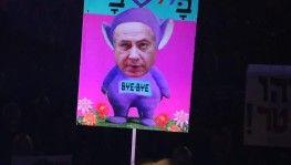 Tel Aviv'de yüzlerce protestocu Netanyahu'nun istifasını istedi