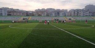 Esenyurt'ta kadına şiddete farkındalık için kadınlar arası futbol maçı