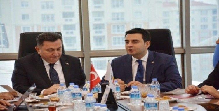 """Çorlu TSO Yönetim Kurulu Başkanı İzzet Volkan, """"Çorlu günden güne cazibe merkezi olma yolunda ilerliyor"""""""