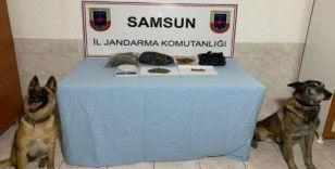 Bafra ve Alaçam'da uyuşturucu operasyonu: 1 gözaltı