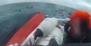 İtalya açıklarında alabora olan tekneden 149 göçmen kurtarıldı