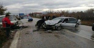 İki farklı kazada 7 kişi yaralandı