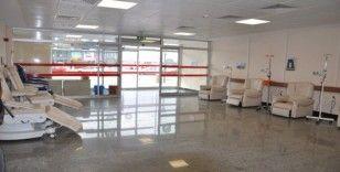Kemoterapi ünitesinde koltuk kapasitesi arttırıldı