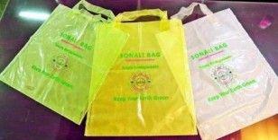 Bangladeş de plastik poşet kullanıma son veriyor