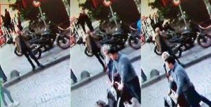 (Özel) Gençlerin selfie çekmek uğruna merdivenlerden düştüğü anlar kamerada