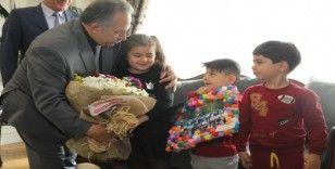 Eğitim camiasından başkan Yalçın'a teşekkür