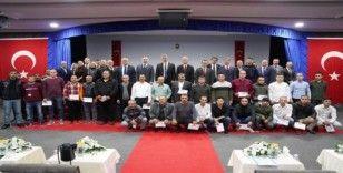 150 hükümlü eğitimleri başarıyla tamamladı, sertifikalarını aldı