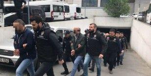 Organize suç örgütü 'Sarallar'ın lideri Burhanettin Saral ve 19 adamı gözaltına alındı