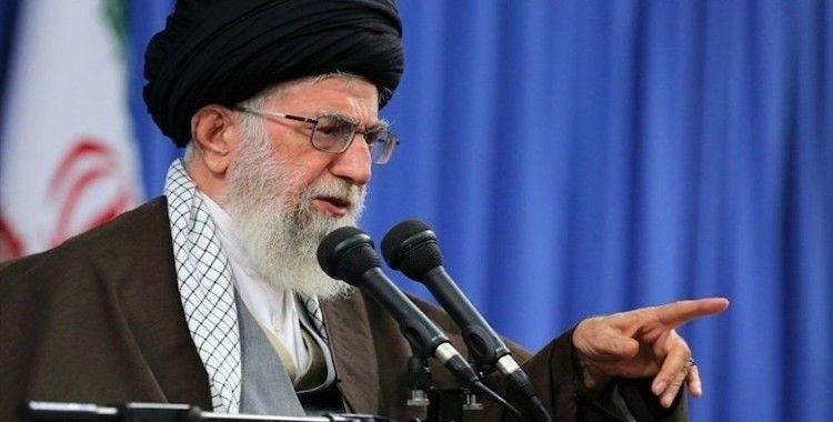 İran'ın dini lideri Hamaney: 'Çok tehlikeli bir tuzağı bertaraf ettik'