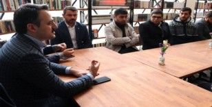 TÜGVA Genel Başkanı Enes Eminoğlu Karaman'da