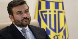 MKE Ankaragücü Kulübü Başkanı Fatih Mert: Ankaragücü yok olmaktan kurtuldu