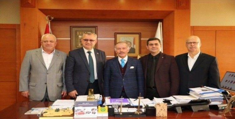 Keşan Belediye Başkanı Helvacıoğlu'ndan Aydıner'e ziyaret