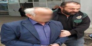 5 kilo 650 gram esrarla yakalanan yaşlı adam tutuklandı