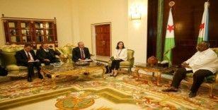 TBMM Başkanı Şentop, Cibuti Cumhurbaşkanı Guelleh ile görüştü