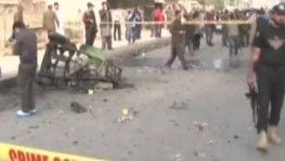 Pakistan'da çekçekli patlama