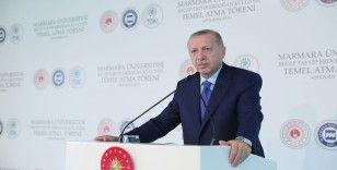 Erdoğan'dan Macron'a: Türkiye'yi NATO'dan çıkarmak senin haddine mi?