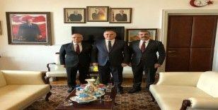 Başkan Kayda, Ankara'da temaslarda bulundu