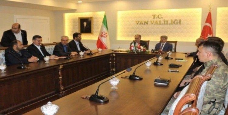 Türkiye ile İran sınır güvenliğini masaya yatırıldı