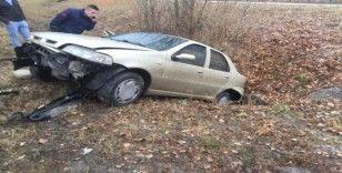 Ankara'da trafik kazaları: 3 yaralı