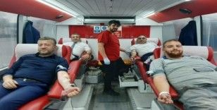 Ulaşımpark çalışanları kan bağışında bulundu