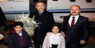 Cumhurbaşkanı Yardımcı Oktay, Amasya'da karşılandı