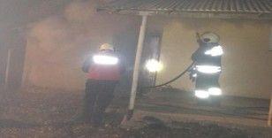 Bingöl'de odunluk yangını