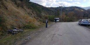 Türkeli'de motosiklet ile minibüs çarpıştı: 1 yaralı