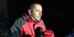 Uludağ'da kaybolan dağcıların ayak izlerine rastlanıldı